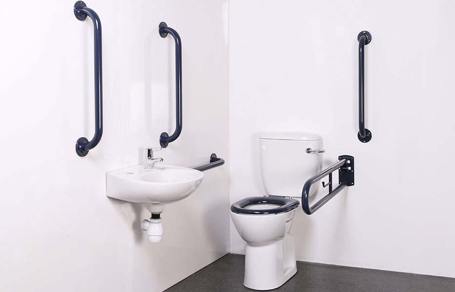 Вспомогательные поручни для туалета